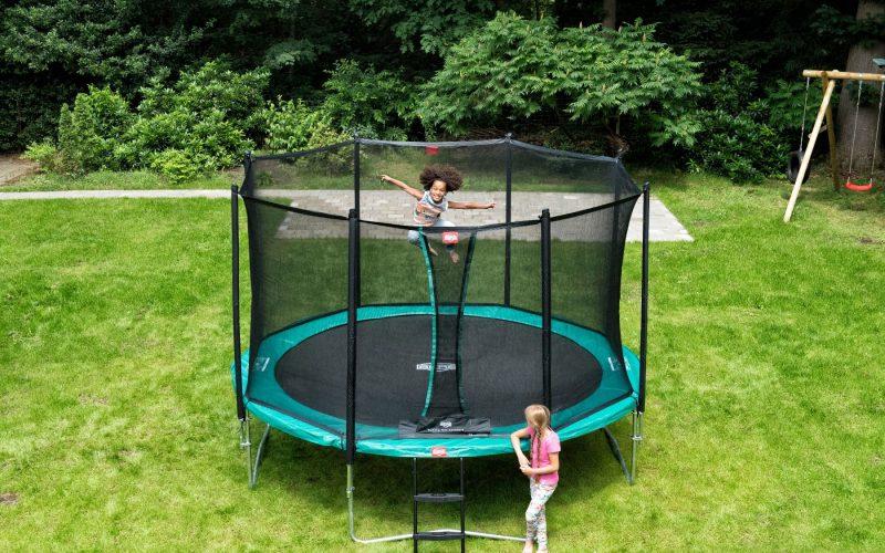 Illustrasjonsbilde trampoline