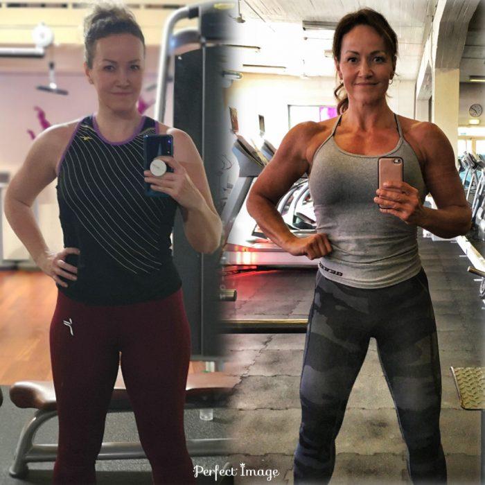Bilde av resultatene fra ett og et halvt års hard innsats av Hanne Fossum